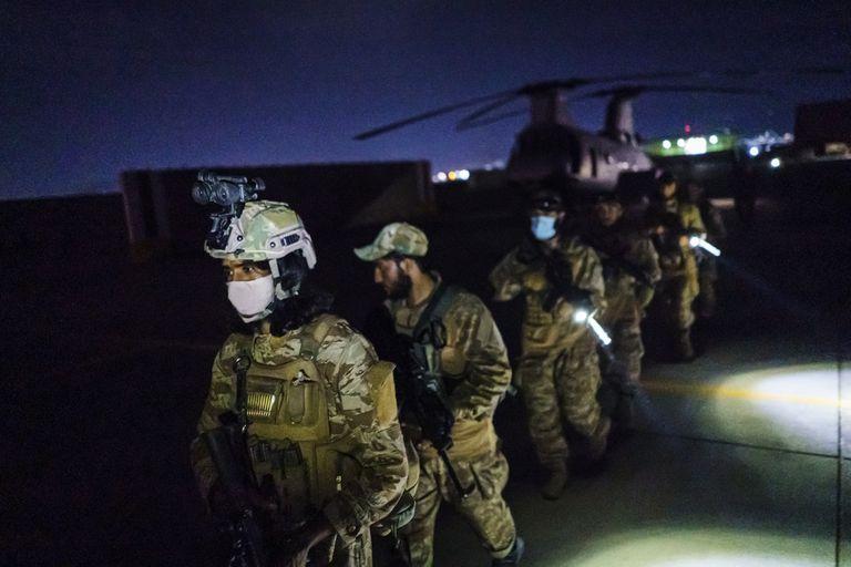 El Talibán toma control del Aeropuerto de Kabul (MARCUS YAM / LOS ANGELES TIMES)