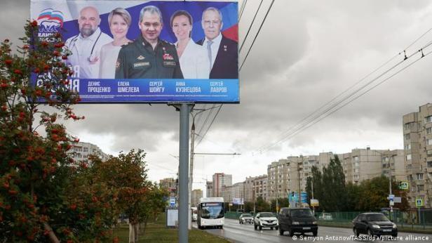 Las elecciones en Rusia comienzan el 17 de septiembre.