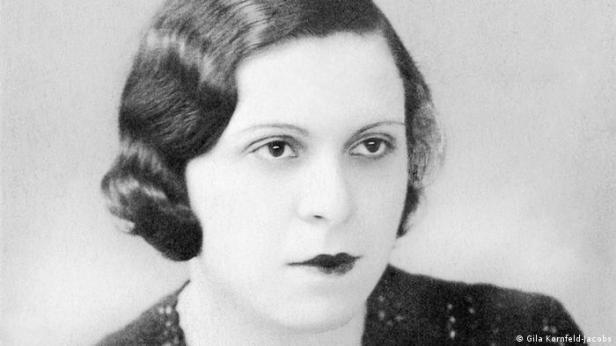 Hunya Volkmann, una costurera de Auschwitz que sobrevivió y se instaló posteriormente en Berlín.